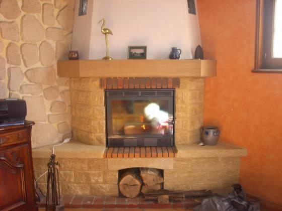 Chemin e d 39 angle chemin es boisaubert cr ation ou r novation de chemin e en is re 38 - Photo de cheminee ...